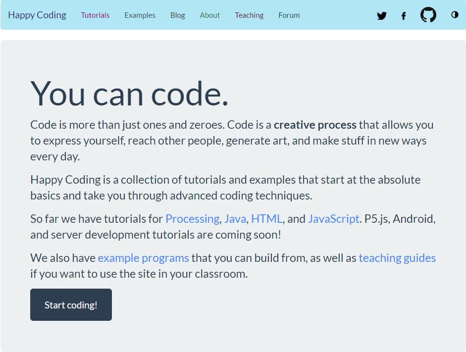 Happy Blogging - Happy Coding