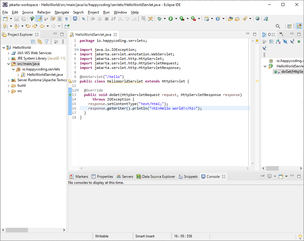 Eclipse EE - Happy Coding
