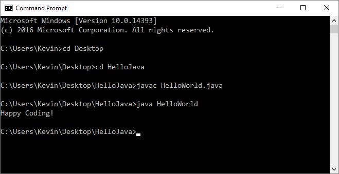 Hello World - Happy Coding