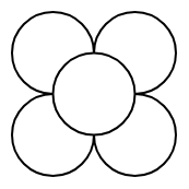 flower outline