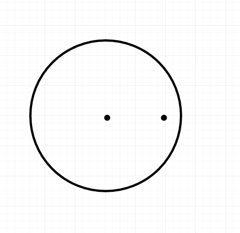point inside circle
